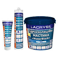 Мастика акриловая гидроизоляционная белая WaterBlock Lacrysil 280мл (Лакрисил)