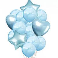 Набор шариков (уп.14шт.) голубой