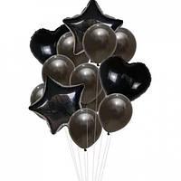 Набор шариков (уп.14шт.) чёрный