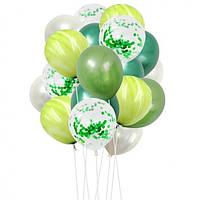 Набор шариков (уп.20шт.) зелёный