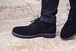 Зимние ботинки дезерты мужские черные замшевые размер 40, 41, 42, 43, 44, 45, фото 2