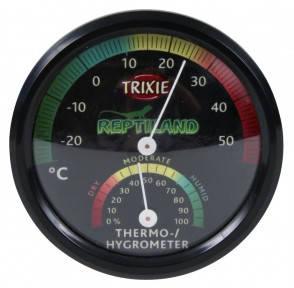 Термометр-гигрометр механический для террариума  7,5см, Трикси 76113 Термометр-гигрометр механический для террариума, Трикси 76113
