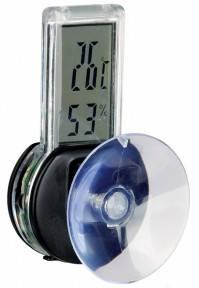 Термометр-гигрометр электронный на присоске для террариума 76115. Трикси