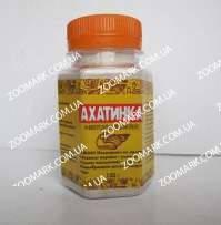 Ахатинка  подкормка для сухопутных улиток 100 гр Ахатинка, белково - кальциевая подкормка для сухопутных улиток, 100 гр.