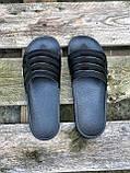 Мужские тапочки Adіdas Black, фото 5
