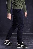 Брюки чиносы  мужские темно-синие от бренда ТУР модель Бронсон (Bronson). Размер M, L, фото 1