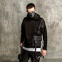 Худи мужской черный от бренда ТУР модель Мотаро (Motaro), фото 1