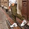 Зимние штаны карго на флисе мужские хаки бренд ТУР модель Грут (Groot)