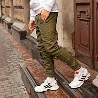 Зимние штаны карго на флисе мужские хаки бренд ТУР модель Грут (Groot), фото 1
