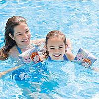 Нарукавники для плавания Intex 56640 Original Холодное сердце, 23х15 см