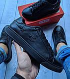 Кеды кожаные мужские черные Philipp Plein размер 40, 41, 42, 43, 44, 45, фото 4