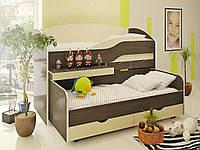Выдвижная кровать для двоих детей ВКД 5