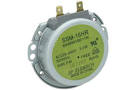 Мотор поддона для микроволновой печи SSM-16HR LG 6549W1S011N