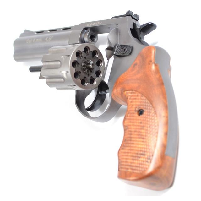 револьвер Stalker Titanium wood 4,5 (gt45w) під патрон флобера