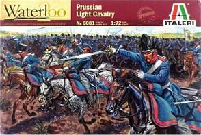 Прусская кавалерия, период наполеоновских войн. Набор пластиковых фигурок в масштабе 1/72. ITALERI 6081