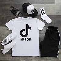 Летний комплект Футболка+шорты+кепка+маска+носки размер  S, M, L, XL