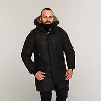 Зимняя мужская парка куртка камо Беленус (Belenos) от бренда ТУР, фото 1