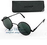 """Сонцезахисні окуляри """"круглі"""" (скло!) Код: 7201, фото 2"""