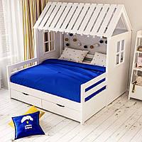 Кровать домик для двоих детей ДКД 213
