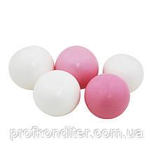 Желейные шарики Белые / Розовые (5шт)