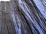 Ткань креш органза для цветоделанья синий глубокий 8 лоскутов набор 35 см*18 см, фото 2