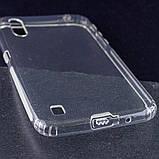 TPU чехол GETMAN Transparent 1,0 mm для Samsung Galaxy A01, фото 3