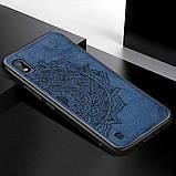 TPU+Textile чехол Mandala с 3D тиснением для Samsung Galaxy A10 (A105F), фото 3