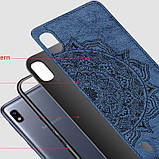 TPU+Textile чехол Mandala с 3D тиснением для Samsung Galaxy A10 (A105F), фото 4