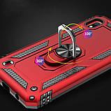 Ударопрочный чехол Serge Ring магнитный держатель для Samsung Galaxy A10 (A105F), фото 6