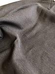 Джинс чёрный стрейч мерный лоскут 90см*40см, фото 3