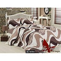 Комплект постельного белья R6958 begie, 36-16701