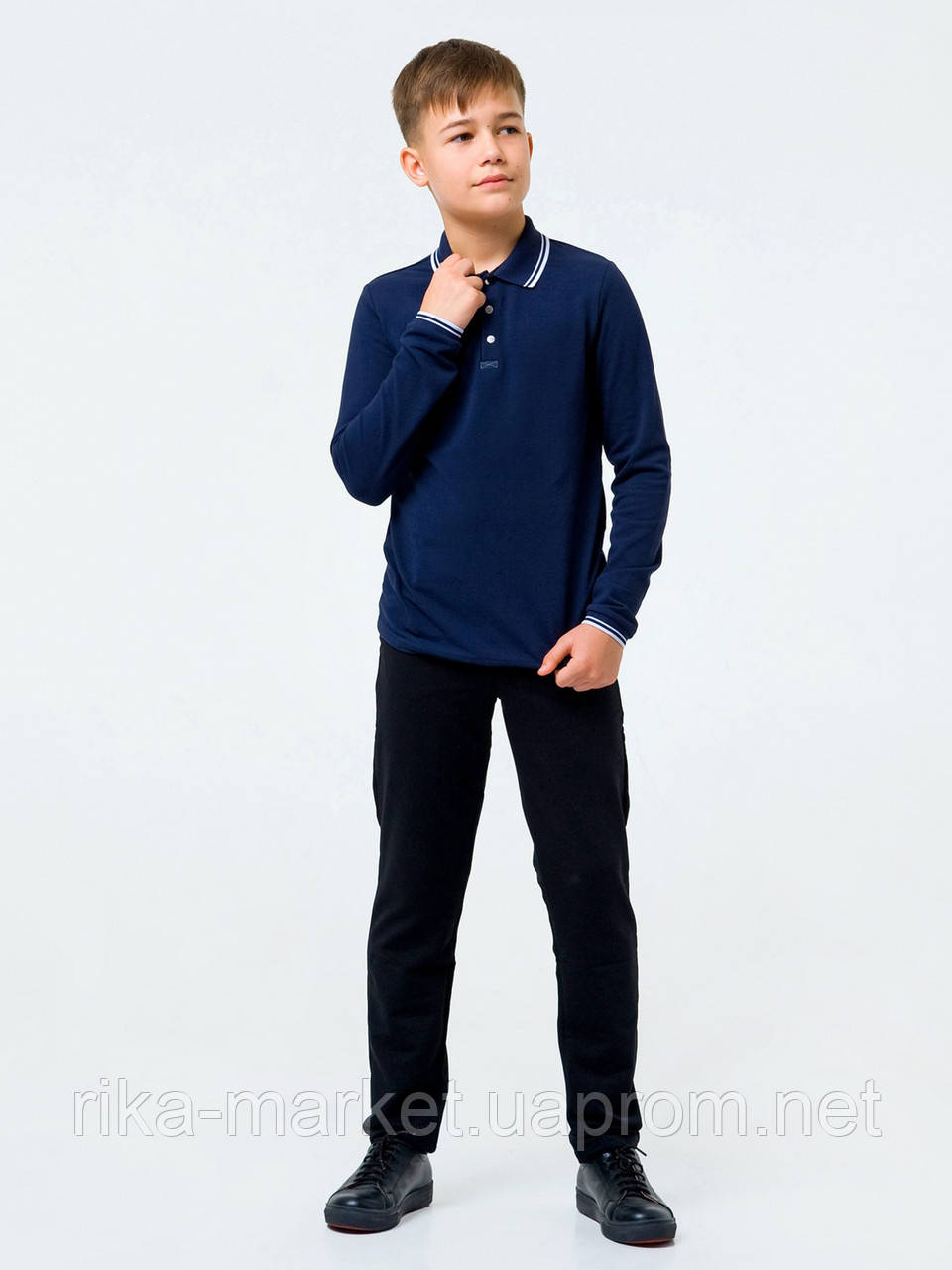 Школьные брюки для мальчика Смил 115443  6 - 10 лет