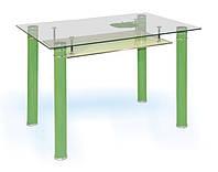 Стол обеденный из стекла Green fruits 900х700х730