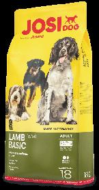 Josera JosiDog Lamb Basic 18кг - для взрослых собак с ягненком