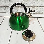 """Чайник со свистком цветной """"А-Плюс"""" WK-1329"""