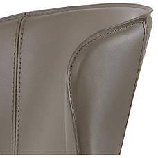 Arthur (Артур) Concepto полубарный стул кожаный пепельно-серый, фото 3