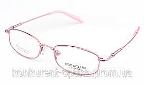 Детские очки для зрения в металлической оправе Bossclub B6633