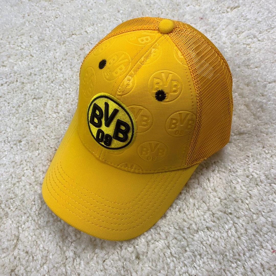 Кепка Боруссия, Borussia NEW 19/20 с сеточкой  желтая