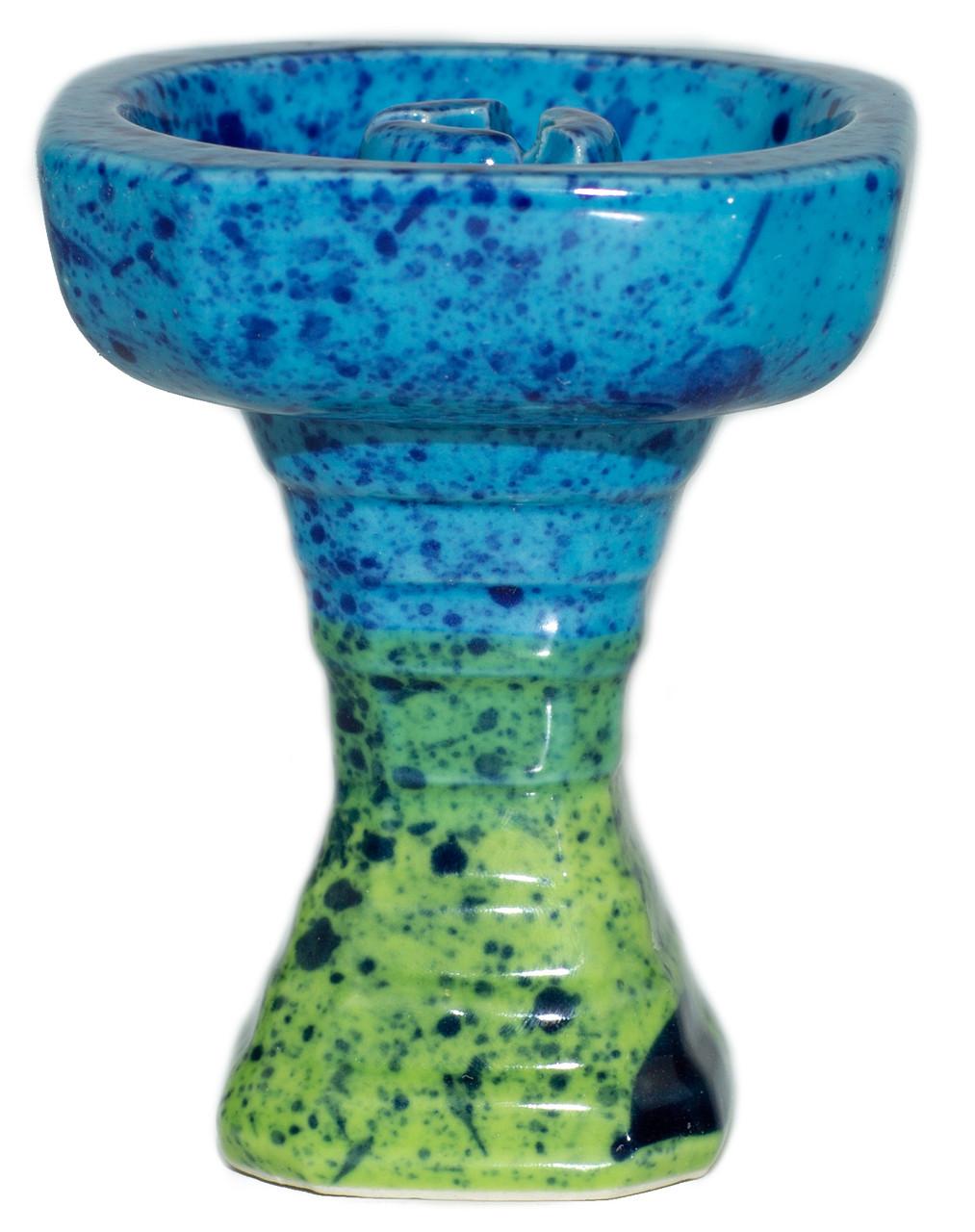 Чаша Grynbowls Hexahedron Голубой - Салатовый