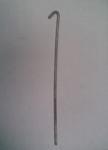 Дрот (проволока) 100см с крюком