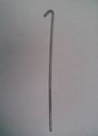 Дрот (проволока) 12,5см с крюком