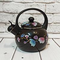 Чайник эмалированный со свистком 2.2 л Edenberg EB-1780
