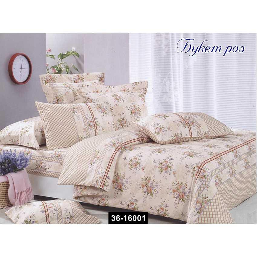 Комплект постельного белья Букет роз, 36-16001