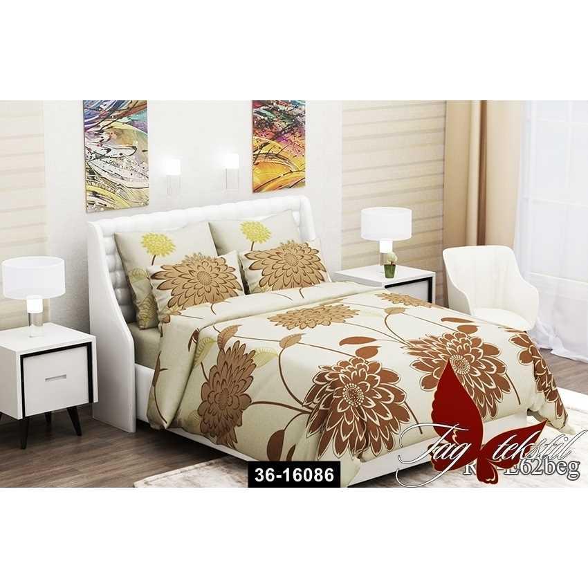Комплект постельного белья (1.5сп) RC-E62beg, 36-16086