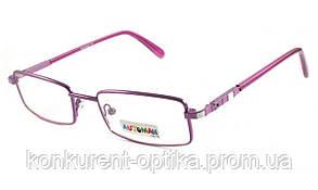 Детские очки для зрения в металлической оправе Automan AU1037