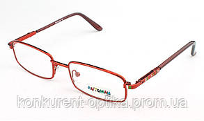 Детские очки для зрения в металлической оправе Automan AU1056