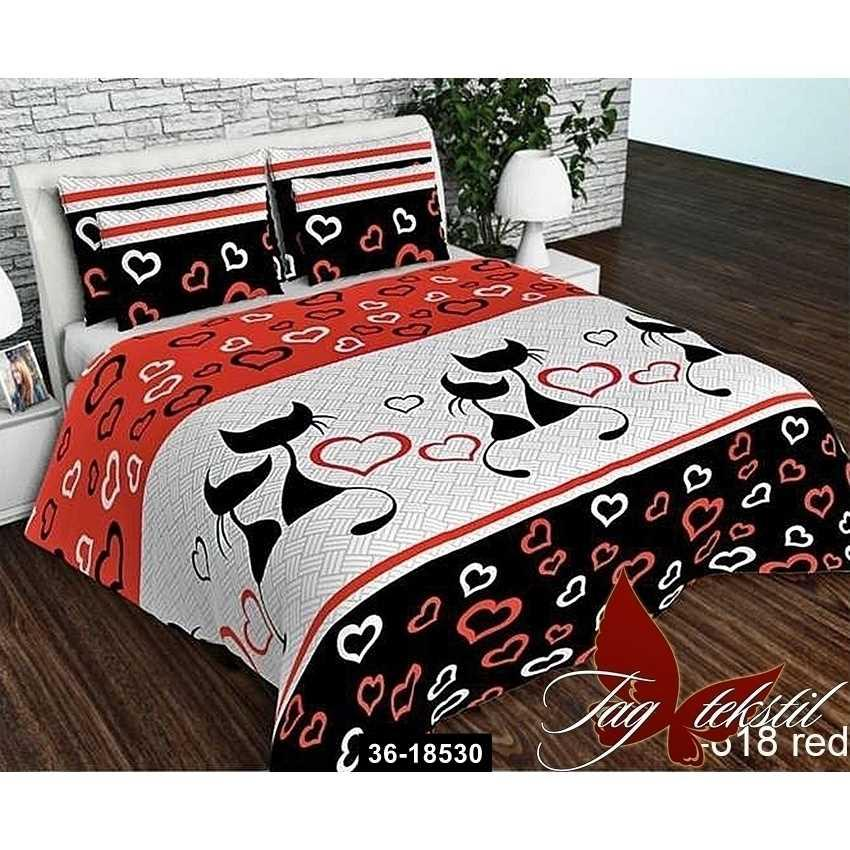 Комплект постельного белья R618red, 36-18530
