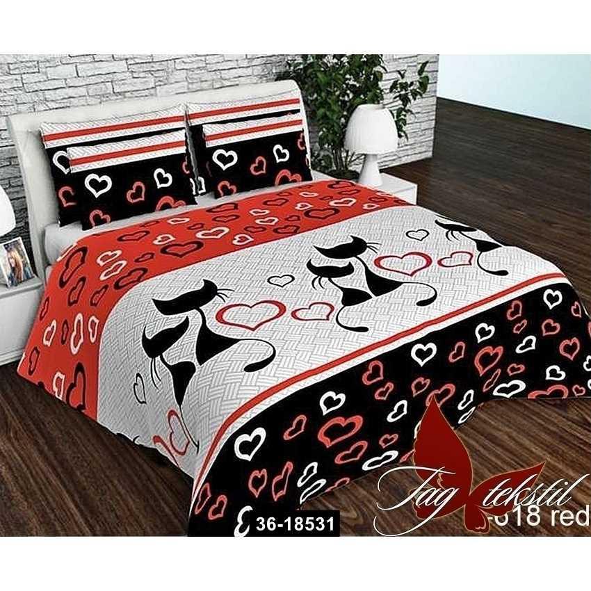 Комплект постельного белья R618red, 36-18531