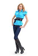 Рубашка женская мод №404, размеры 42,44,46,48(только опт)