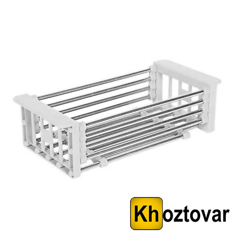Складна кухонні полку Kitchen Drain Shelf Rack | Сушарка для посуду на раковину